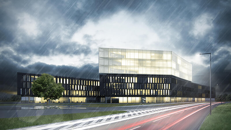 Office building in Poznan